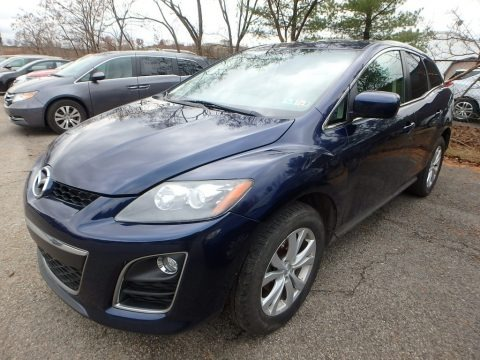 Stormy Blue Mica 2010 Mazda CX-7 s Touring AWD