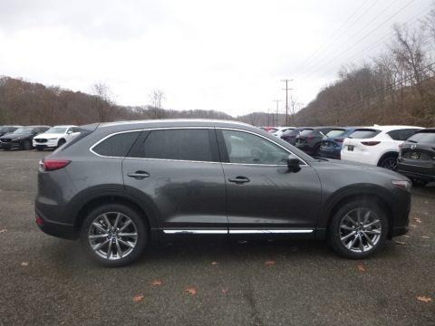 Machine Gray Metallic 2019 Mazda CX-9 Grand Touring AWD