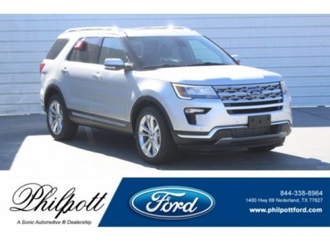 Ingot Silver 2019 Ford Explorer Limited