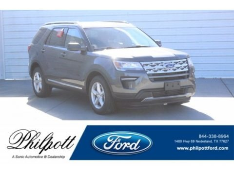 Magnetic 2019 Ford Explorer XLT