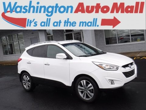 Winter White 2015 Hyundai Tucson Limited AWD