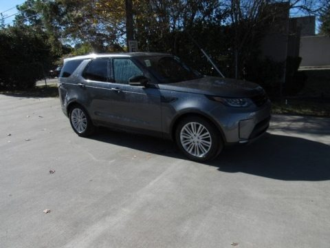 Corris Gray Metallic 2019 Land Rover Discovery HSE Luxury