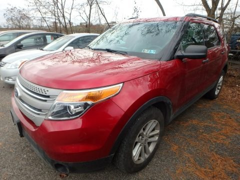 Ruby Red 2015 Ford Explorer 4WD