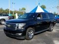 Chevrolet Suburban LTZ 4WD Black photo #1
