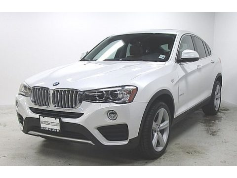 Mineral White Metallic 2016 BMW X4 xDrive28i