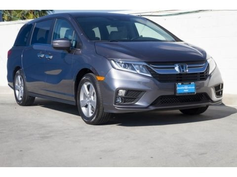 Modern Steel Metallic 2019 Honda Odyssey EX