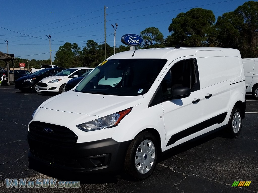 White / Ebony Ford Transit Connect XL Van