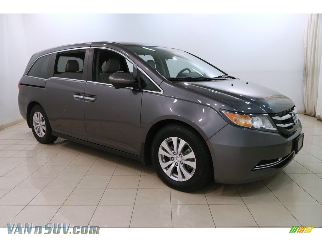 2016 Odyssey EX - Modern Steel Metallic / Gray photo #1