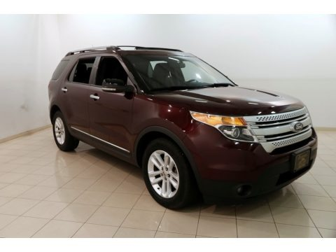 Bordeaux Reserve Red Metallic 2011 Ford Explorer XLT