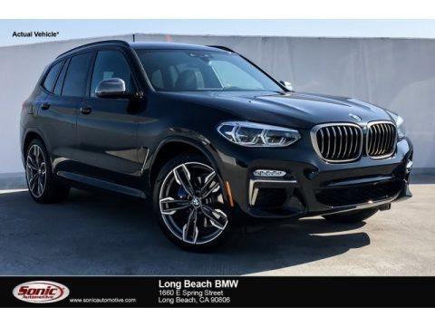 Black Sapphire Metallic 2019 BMW X3 M40i