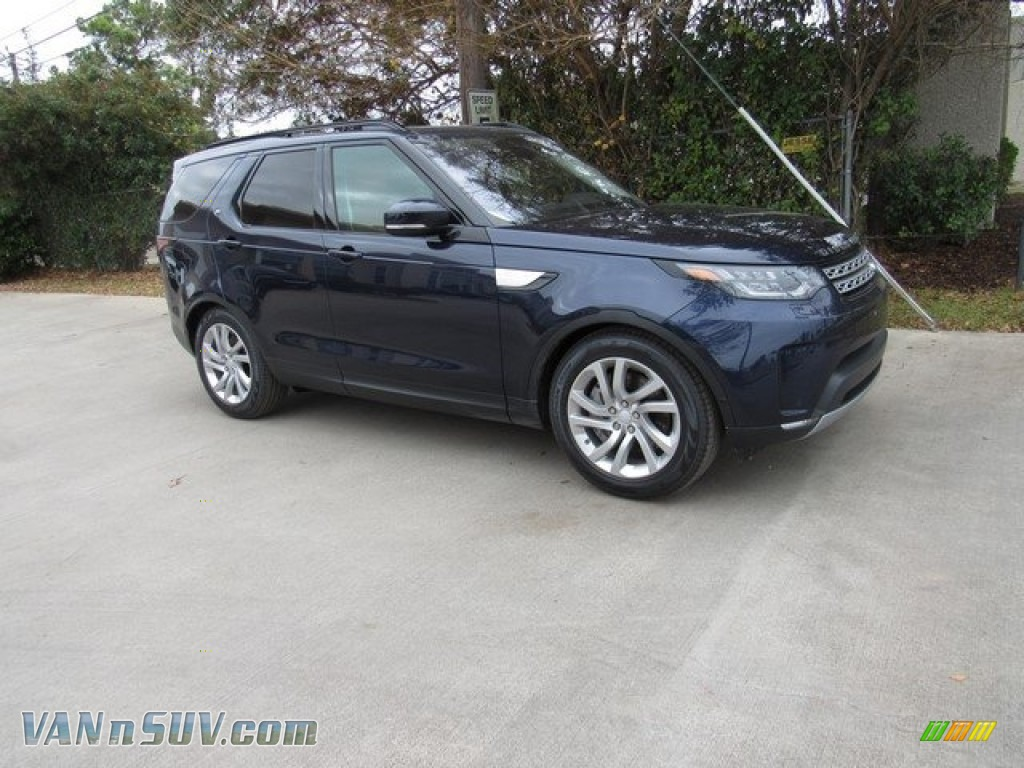 2019 Discovery HSE - Loire Blue Metallic / Tan/Ebony photo #1