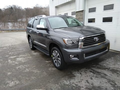 Magnetic Gray Metallic 2019 Toyota Sequoia Limited 4x4