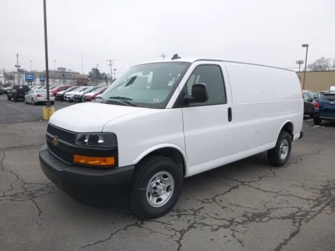 Summit White 2019 Chevrolet Express 2500 Cargo WT
