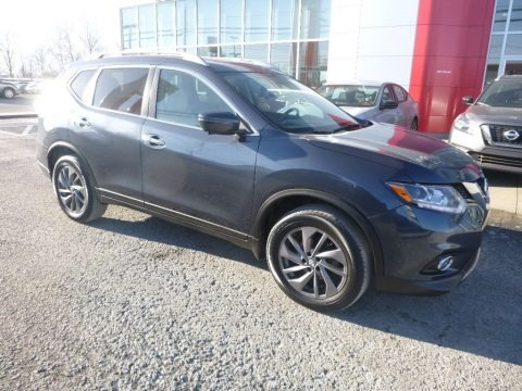 Arctic Blue Metallic 2016 Nissan Rogue SL AWD