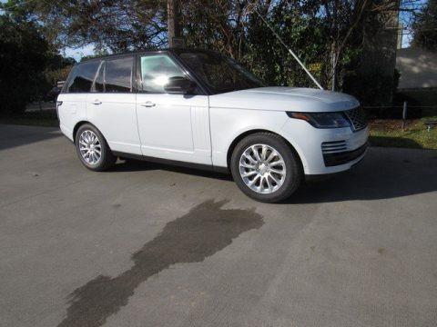 Yulong White Metallic 2019 Land Rover Range Rover HSE