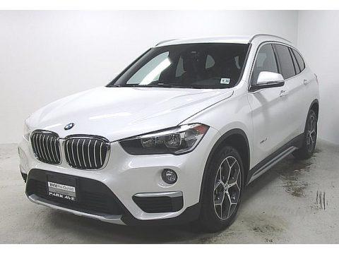 Mineral White Metallic 2018 BMW X1 xDrive28i