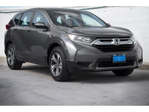 Modern Steel Metallic 2019 Honda CR-V LX