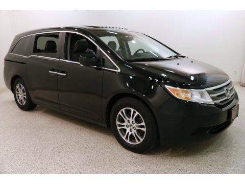 Crystal Black Pearl 2011 Honda Odyssey EX-L
