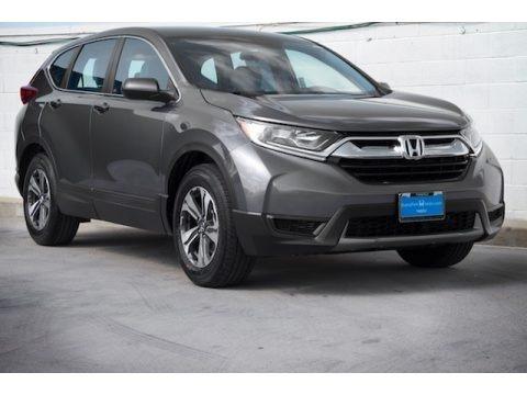 Modern Steel Metallic 2018 Honda CR-V LX