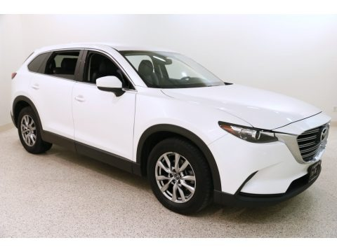 Snowflake White Pearl 2016 Mazda CX-9 Touring AWD