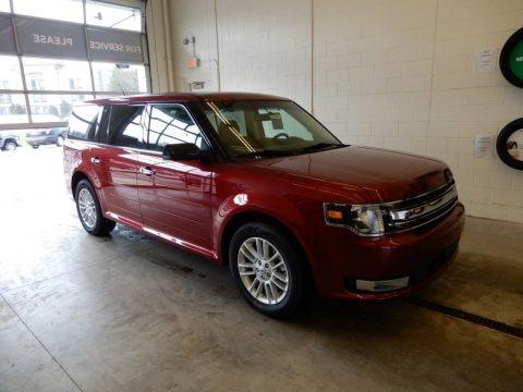 Ruby Red 2019 Ford Flex SEL AWD