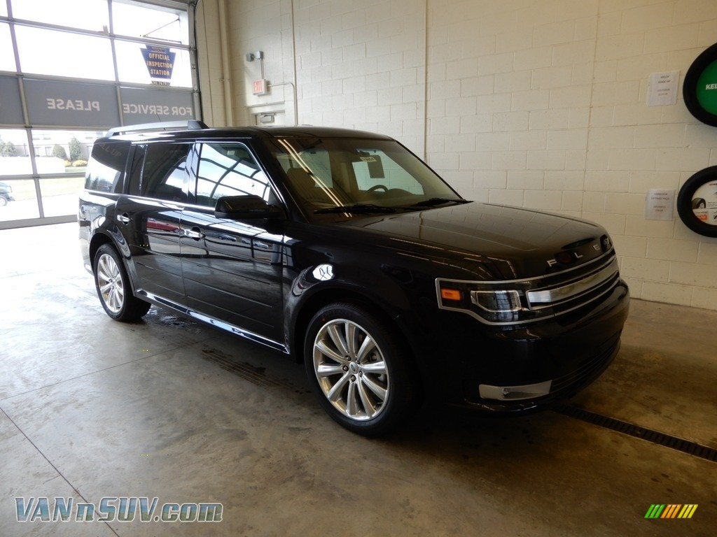 Agate Black / Charcoal Black Ford Flex Limited AWD