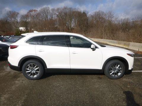 Snowflake White Pearl Mica 2019 Mazda CX-9 Touring AWD