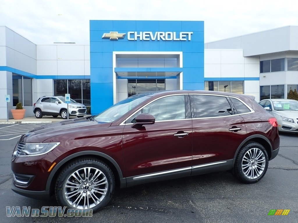 2017 MKX Reserve AWD - Burgundy Velvet / Cappuccino photo #1