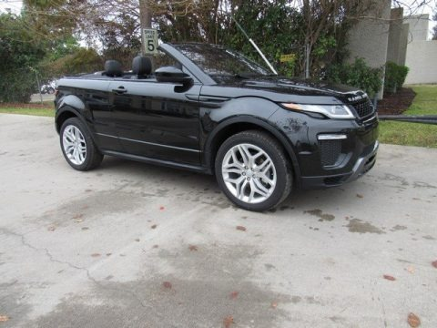Santorini Black Metallic 2019 Land Rover Range Rover Evoque Convertible HSE Dynamic