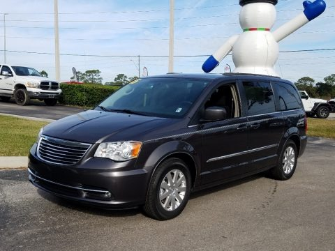 Granite Crystal Metallic 2015 Chrysler Town & Country Touring