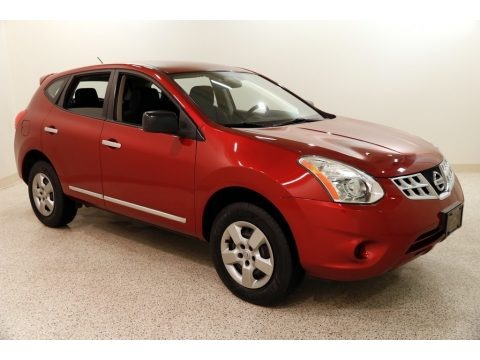 Cayenne Red 2012 Nissan Rogue S AWD
