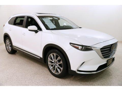 Snowflake White Pearl 2016 Mazda CX-9 Grand Touring AWD