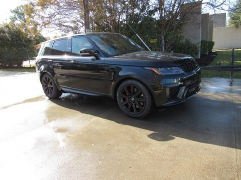 Santorini Black Metallic 2019 Land Rover Range Rover Sport Supercharged Dynamic