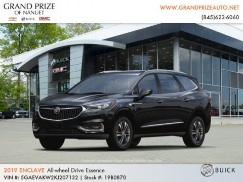 Ebony Twilight Metallic 2019 Buick Enclave Essence AWD
