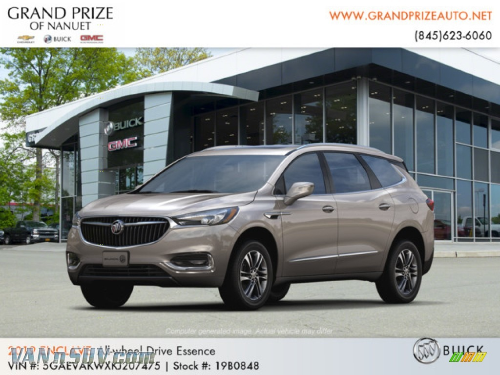 2019 Enclave Essence AWD - Pepperdust Metallic / Dark Galvanized/Ebony Accents photo #1
