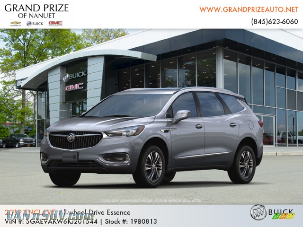 2019 Enclave Essence AWD - Satin Steel Metallic / Dark Galvanized/Ebony Accents photo #1