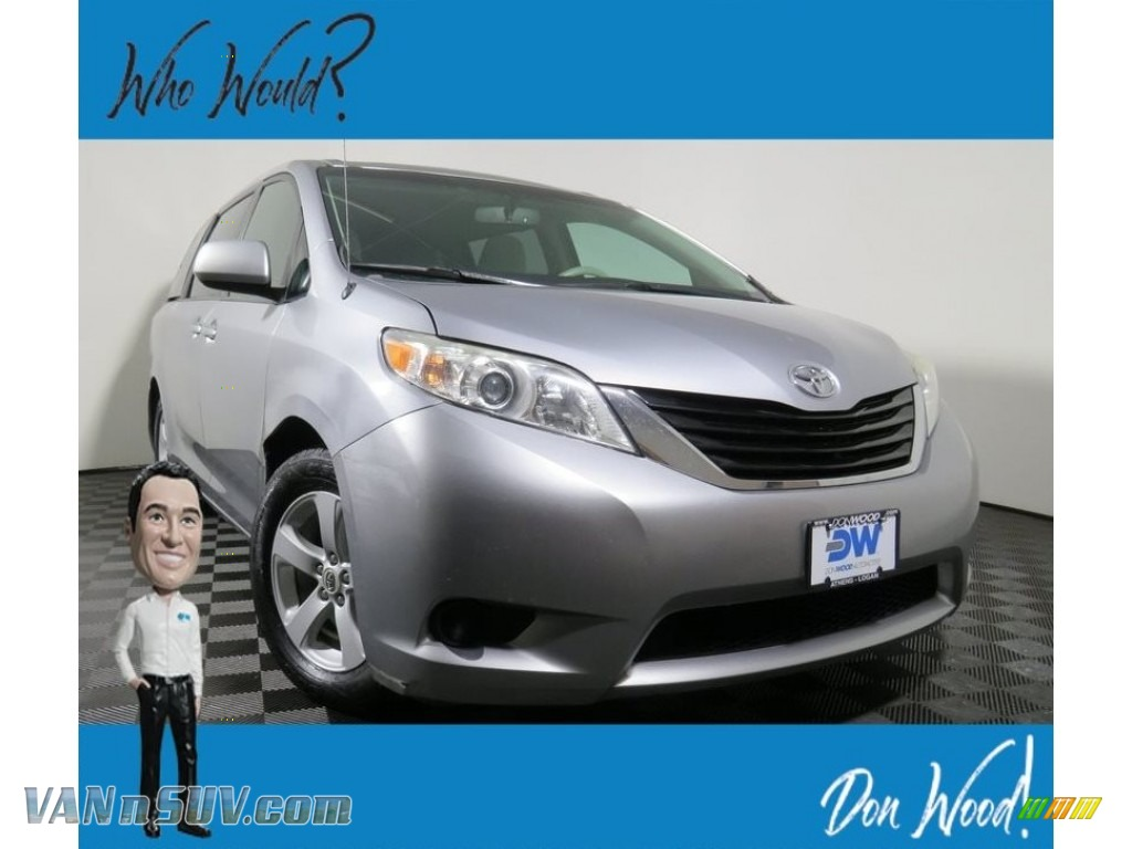 2011 Sienna LE - Silver Sky Metallic / Bisque photo #1