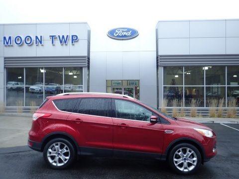 Ruby Red Metallic 2016 Ford Escape Titanium 4WD