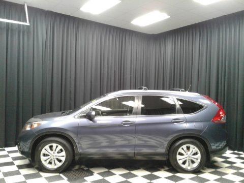 Twilight Blue Metallic 2012 Honda CR-V EX-L