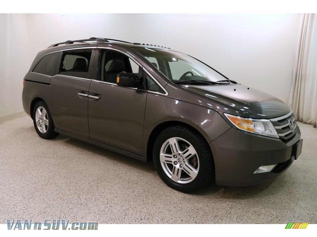 2012 Odyssey Touring - Smoky Topaz Metallic / Gray photo #1