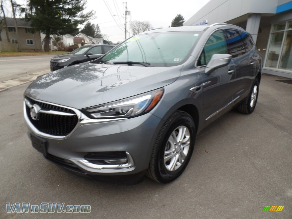 2018 Enclave Essence AWD - Satin Steel Metallic / Shale photo #1