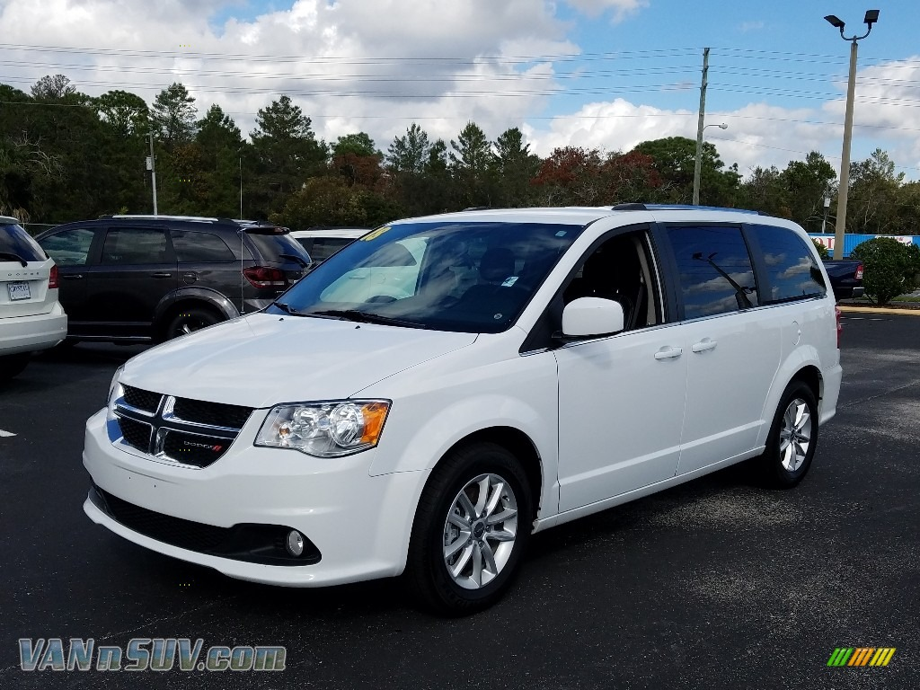 2018 Grand Caravan SXT - White Knuckle / Black photo #1
