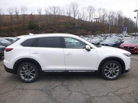 Snowflake White Pearl Mica 2019 Mazda CX-9 Signature AWD