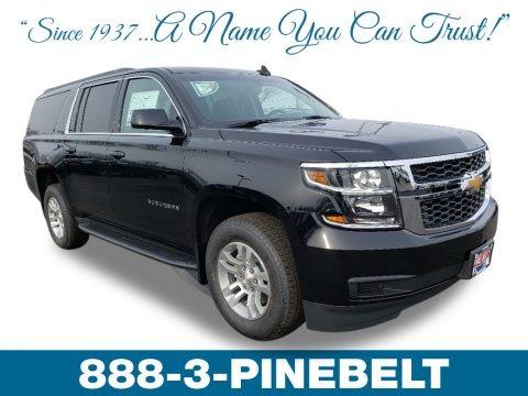 Black 2019 Chevrolet Suburban LS