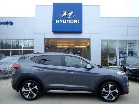 Coliseum Gray 2017 Hyundai Tucson Limited AWD