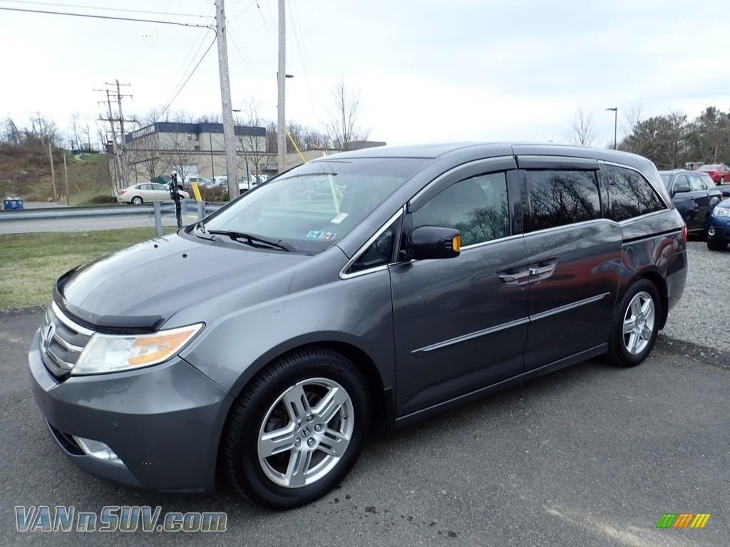 2011 Odyssey Touring Elite - Polished Metal Metallic / Gray photo #1