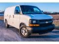 Chevrolet Express 2500 Work Van Summit White photo #1