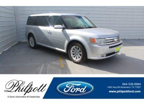 Ingot Silver Metallic 2012 Ford Flex SEL