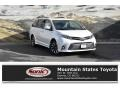 Toyota Sienna Limited AWD Blizzard Pearl White photo #1