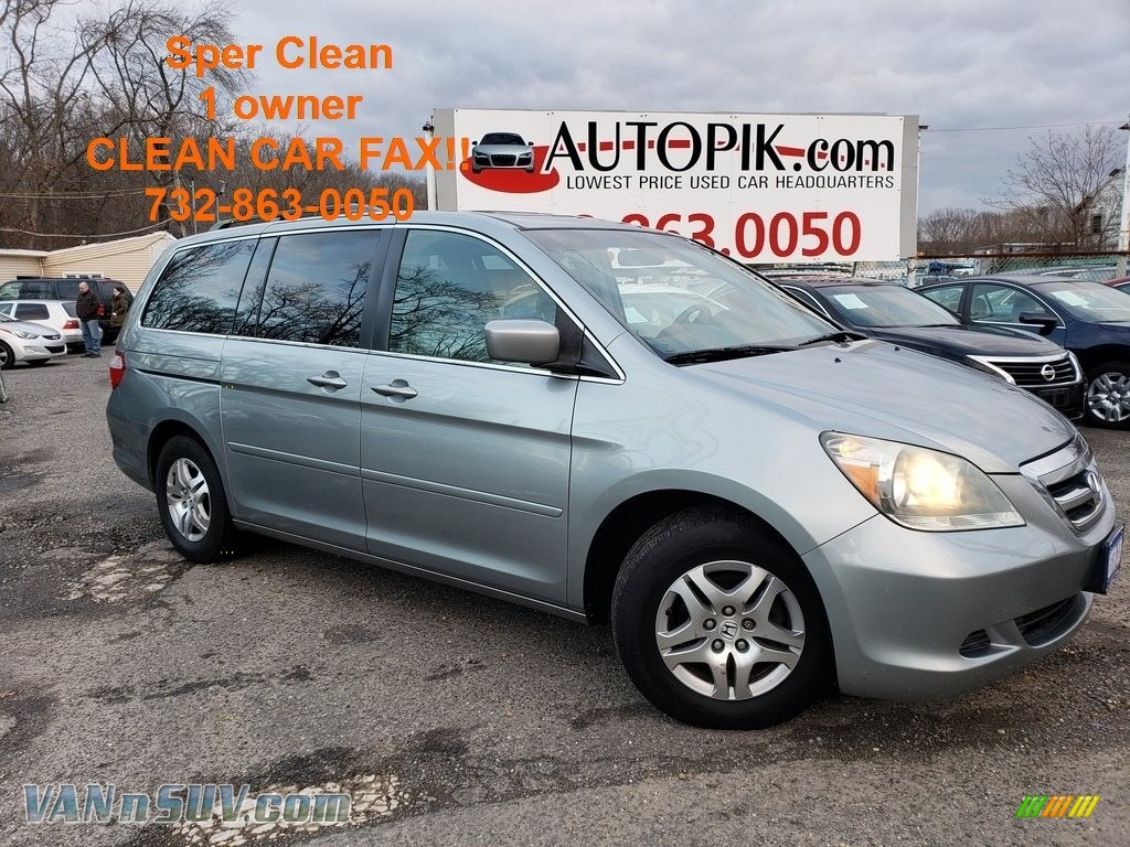 2007 Odyssey EX-L - Ocean Mist Metallic / Gray photo #1